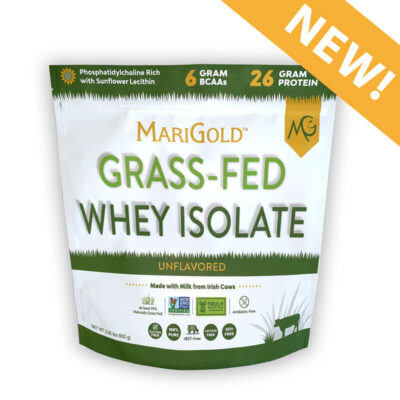 MariGold Truly Grassfed Whey Isolate Protein 2 lb bag