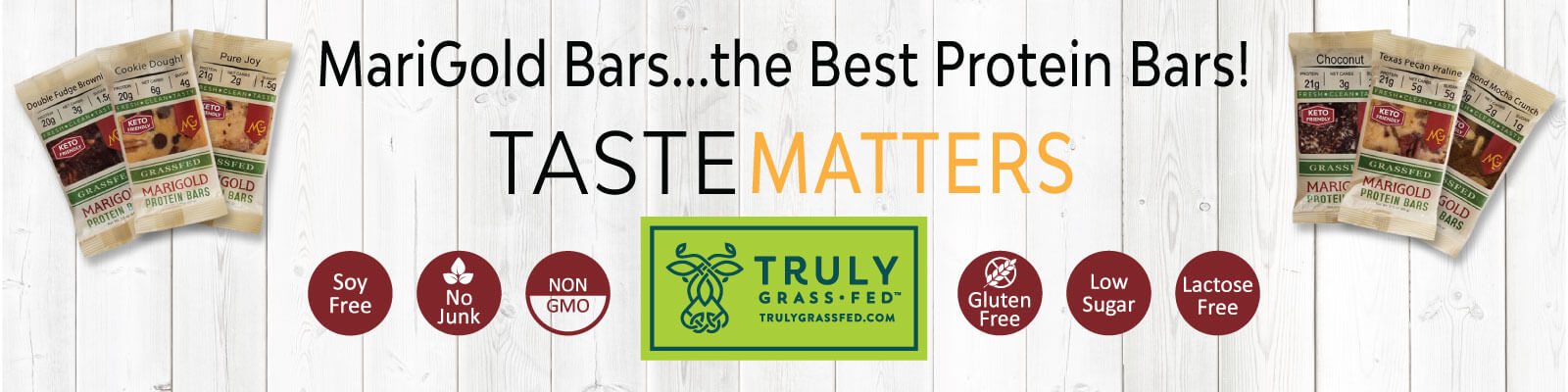 MariGold Bars Protein Bars